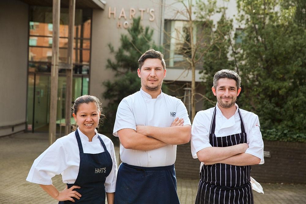 AA Rosettes 2021 Hart's Kitchen Chefs
