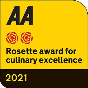 AA Rosettes 2021 Hart's Kitchen