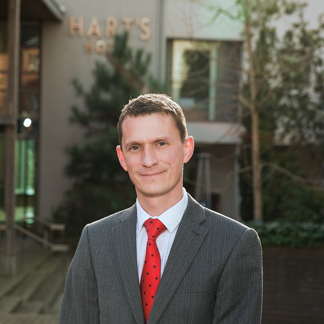 Adam Worthington General Manager Harts Hotel Nottingham