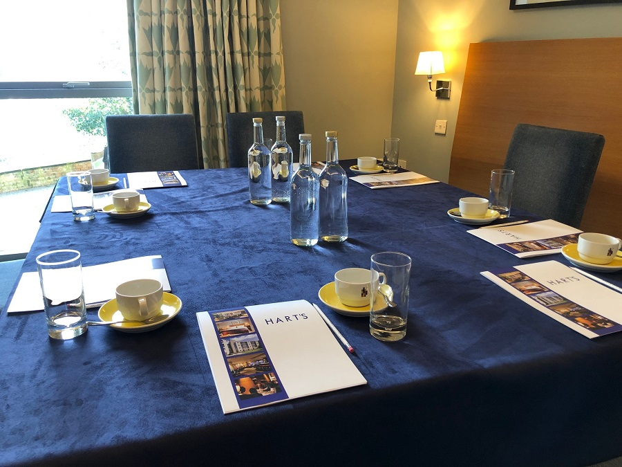 Business Meetings Hart's Hotel Nottingham