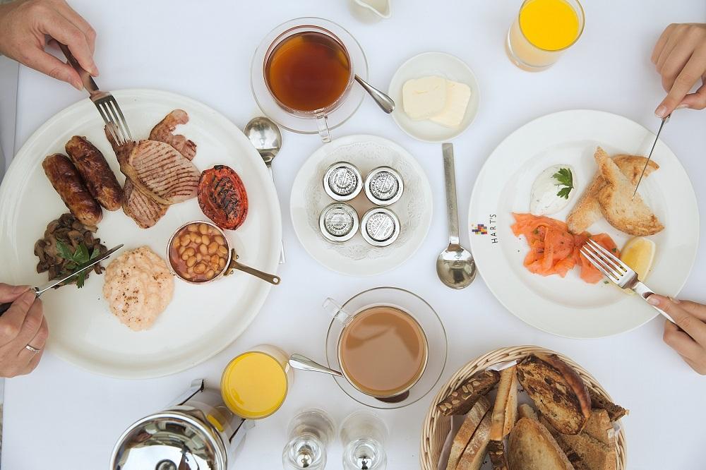 Hart's Hotel Breakfast