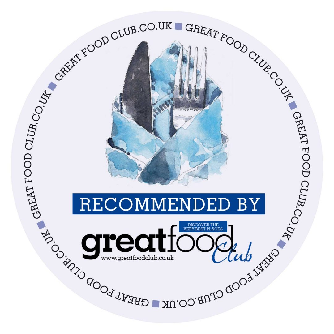 Recommended by Great Food Club