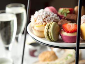 Afternoon tea at Hart's Hotel