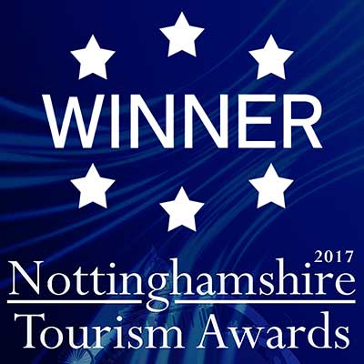 Winner 2017 Nottingham Tourist Awards